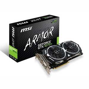 GEFORCEGTX1070TIAR8G MSI PCI-Express 3.0 x16対応 グラフィックスボードMSI GeForce GTX 1070 Ti ARMOR 8G [GEFORCEGTX1070TIAR8G]【返品種別B】