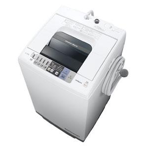 (標準設置料込)NW-70B-W 日立 7.0kg 全自動洗濯機 ピュアホワイト HITACHI 白い約束 [NW70BW]【返品種別A】