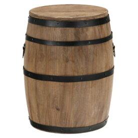 31882 不二貿易 樽型スツール H39 16D6054