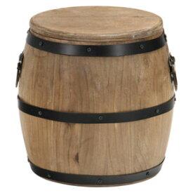 31884 不二貿易 樽型スツール H23 16D6055