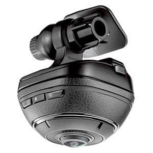 DC3000 カーメイト ドライブレコーダー機能付き 360°車載カメラ daction 360