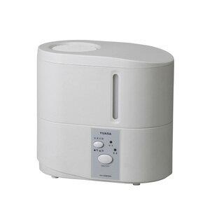 YHY-350V-W ユアサ スチーム式加湿器(木造6畳まで/プレハブ洋室10畳まで ホワイト) YUASA [YHY350VW]【返品種別A】