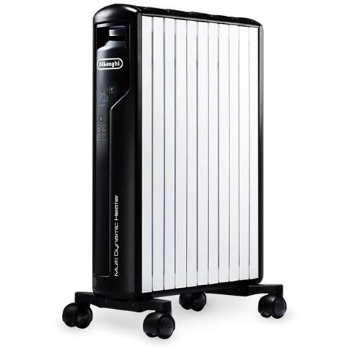 MDH15WIFI-SET デロンギ マルチダイナミックヒーター(ピュアホワイト+マットブラック) 【暖房器具】DeLonghi