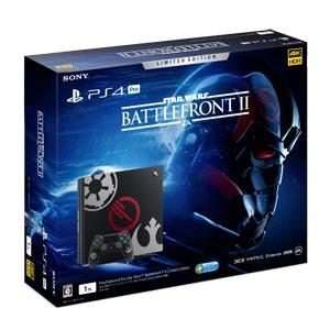 【特典付】PlayStation 4 Pro Star Wars Battlefront II Limited Edition【お一人様一台限り】 ソニー・インタラクティブエンタテインメント [CUHJ-10019 PS4Pro SWBFリミエディ]【返品種別B】【送料無料】
