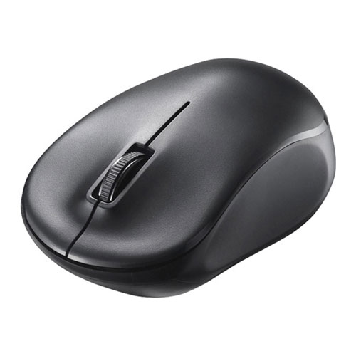 BSMRW100BK バッファロー 無線(2.4GHz)IR光学式 3ボタン 電池長持ちマウス(ブラック) BUFFALO