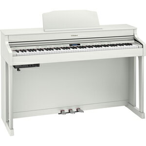 HP603-AWHS ローランド 電子ピアノ(ホワイト)【高低自在椅子&ヘッドホン&楽譜集付き】 Roland Digital Piano [HP603AWHS]【返品種別A】