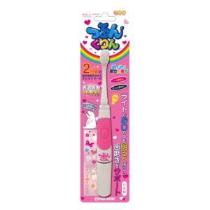 JS002-PK マルマン 電動歯ブラシ(ピンク) maruman JSONIC(ジェイソニック) つるんくりん 子ども用音波振動歯ブラシ [JS002PK]【返品種別A】