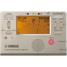 TDM-700G ヤマハ チューナー/メトロノーム(ゴールド) YAMAHA