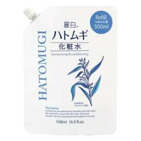 麗白 ハトムギ化粧水 詰替 500ml 熊野油脂 Rハトムギケシヨウスイツメカエ500