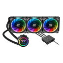 CL-W158-PL12SW-A Thermaltake CPUクーラー Floe Riing RGB 360 TT Premium Edition [CLW1...