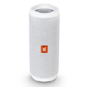 JBLFLIP4WHT JBL 防水対応Bluetoothワイヤレススピーカー(ホワイト) JBL FLIP4(フリップ4)ウォータープルーフ対応Bluetoothスピーカー