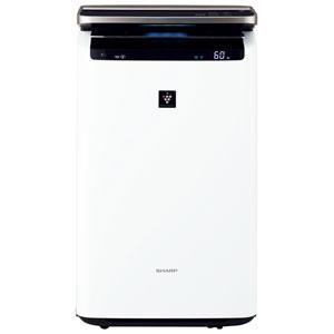 KI-HP100-W シャープ 加湿空気清浄機(空清46畳まで/加湿26畳まで ホワイト系) SHARP 「高濃度プラズマクラスターNEXT」搭載 [KIHP100W]【返品種別A】