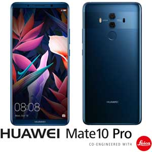 MATE10PRO/BLUE HUAWEI HUAWEI Mate 10 Pro ミッドナイトブルー (SIMフリースマートフォン) 「AIプロセッサー内蔵、新世代スマートフォン」 [MATE10PROBLUE]【返品種別B】