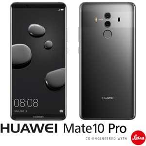 MATE10PRO/GRAY HUAWEI HUAWEI Mate 10 Pro チタニアムグレー (SIMフリースマートフォン) 「AIプロセッサー内蔵、新世代スマートフォン」 [MATE10PROGRAY]【返品種別B】