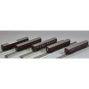 [鉄道模型]カトー KATO 【再生産】(Nゲージ) 10-418 お召列車 1号編成 5両セット [カトー10-418 オメシレッシャ 1ゴウヘンセイ 5R]【返品種別B】