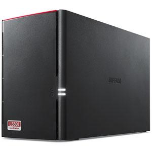LS520D0202 バッファロー ネットワーク対応ハードディスク 2.0TB(1.0TB×2) リンクステーション(RAID 0/1対応) [LS520D0202]【返品種別A】
