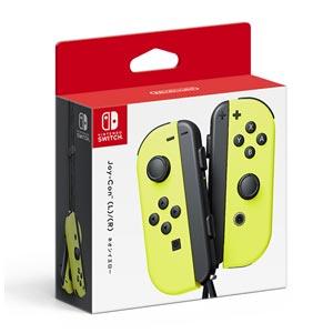 【Nintendo Switch】Joy-Con(L)/(R) ネオンイエロー 任天堂 [HAC-A-JADAA NSWジョイコンネオンイエロー]【返品種別B】