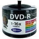 HDDR47JNP50SB2 HIDISC データ用 16倍速対応DVD-R 50枚パック4.7GB 詰替用エコパック ハイディスク ワイドプリンタ…