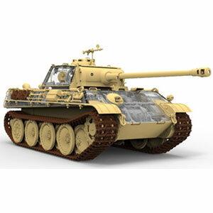 1/35 パンターG型 Sd.Kfz. 171 前期型/後期型 w/フルインテリア 限定版【RFM5016】 ライフィールドモデル [RFM5016 パンターGガタ ゼンキガタ コウキガタ]【返品種別B】