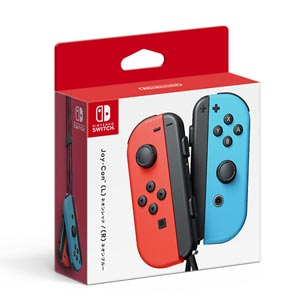 【Nintendo Switch】Joy-Con(L) ネオンレッド/(R) ネオンブルー 任天堂 [HAC-A-JAEAA NSWジョイコンLRネオン]【返品種別B】