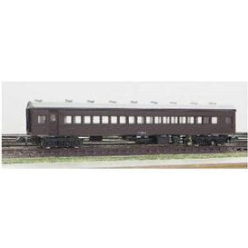 [鉄道模型]グリーンマックス (Nゲージ) 11007 着色済み スハフ43(茶色)(組立キット)