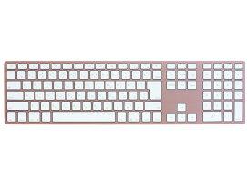 FK418BTRG-JP Matias Bluetooth接続 ワイヤレスアルミニウムキーボード 日本語配列113キー(ローズゴールド) Matias Wireless Aluminum Keyboard - Rose Gold