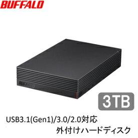 HD-LD3.0U3-BKA バッファロー USB3.1(Gen1)/3.0対応 外付けHDD 3TB(ブラック) HD-LDU3-Aシリーズ
