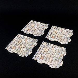 1/12 F-002 ペーパージオラマ ジョイントマット 石畳A ドラゴンホース