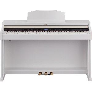 HP601-WHS ローランド 電子ピアノ(ホワイト)【高低自在椅子&ヘッドホン&楽譜集付き】 Roland Digital Piano [HP601WHS]【返品種別A】