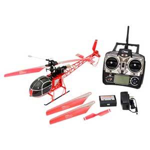 2.4GHz 4ch ヘリコプター V915 RTF(レッド)【WLV915】 WLtoys [WLV915 ヘリコプター V915 RTF レッド]【返品種別B】