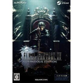【Windows】ファイナルファンタジーXV ウィンドウズエディション スクウェア・エニックス