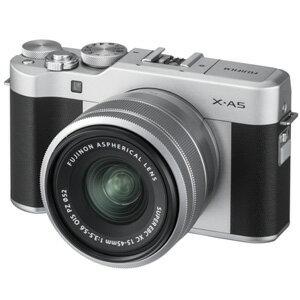 【エントリーでP5倍 8/20 9:59迄】FX-A5LKS 富士フイルム デジタル一眼カメラ「X-A5」レンズキット(シルバー)