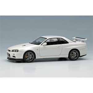 1/43 NISSAN SKYLINE GT-R (BNR34) V-spec II 2000 ホワイトパール【EM371B】 メイクアップ [EIDOLON EM371B SKYLINE ホワイト]【返品種別B】