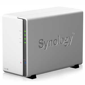 DS218J Synology 2ベイオールインワンNASキット DiskStation DS218j [DS218J]【返品種別A】【送料無料】