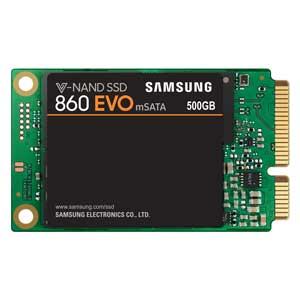 MZ-M6E500B/IT サムスン Samsung SSD 860 EVO mSATAシリーズ 500GB(ベーシックキット) [MZM6E500BIT]【返品種別B】
