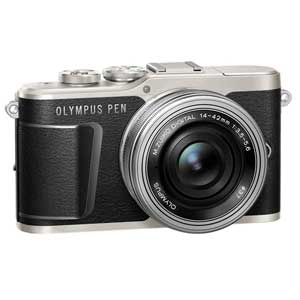 E-PL9 レンズキツト(ブラツク) オリンパス ミラーレス一眼カメラ「OLYMPUS PEN E-PL9」14-42mm EZレンズキット(ブラック)