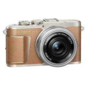 E-PL9 レンズキツト(ブラウン) オリンパス ミラーレス一眼カメラ「OLYMPUS PEN E-PL9」14-42mm EZレンズキット(ブラウン)