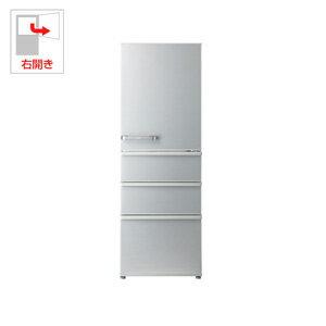 AQR-36G-S アクア 355L 4ドア冷蔵庫(ミスティシルバー)【右開き】 AQUA