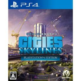 【PS4】シティーズ:スカイライン PlayStation(R)4 Edition スパイク・チュンソフト [PLJS-36028 PS4 シティーズスカイライン]