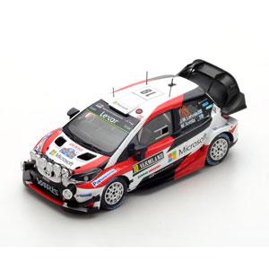 1/43 Toyota Yaris WRC No.10 Winner Rally Sweden 2017【S5165】 スパーク [S5165 Toyota Yaris WRC No.10]【返品種別B】