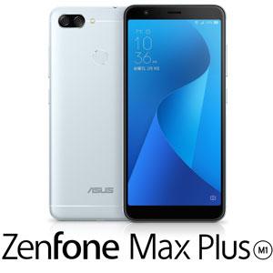 ZB570TL-SL32S4 エイスース ASUS ZenFone Max Plus (M1) アズールシルバー 5.7インチ SIMフリースマートフォン [ZB570TLSL32S4]【返品種別B】
