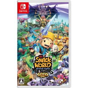 【封入特典付】【Nintendo Switch】スナックワールド トレジャラーズ ゴールド レベルファイブ [HAC-P-AJMUA スナックワールドゴールド]【返品種別B】