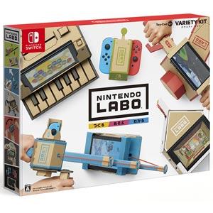 【Nintendo Switch】Nintendo Labo 01 : Variety Kit 任天堂 [HAC-R-ADFUA ニンテンドウ ラボ バラエティキット]【返品種別B】