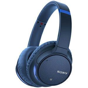 WH-CH700N L ソニー Bluetooth対応ワイヤレスノイズキャンセリングヘッドホン(ブルー) SONY