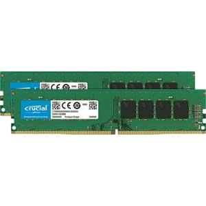 【エントリーでP5倍 8/20 9:59迄】CT2K8G4DFS824A Crucial PC4-19200 (DDR4-2400)288pin DDR4 UDIMM 16GB(8GB×2枚)