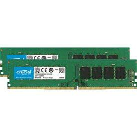 CT2K16G4DFD8266 Crucial PC4-21300 (DDR4-2666)288pin DDR4 UDIMM 32GB(16GB×2枚)