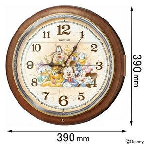 FW-587-B セイコークロック 電波掛け時計 【ミッキー】 セイコーメロディ [FW587B]【返品種別A】
