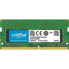 CT8G4SFS8266 Crucial PC4-21300 (DDR4-2666)260pin DDR4 SODIMM 8GB