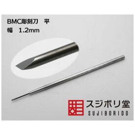 BMC彫刻刀 平 幅1.2mm【cyoko010】 スジボリ堂