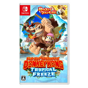 【Nintendo Switch】ドンキーコング トロピカルフリーズ 任天堂 [HAC-P-AFWTA ドンキーコング トロピカルフリーズ]